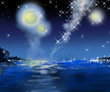 詩乃の航海の時の星空です