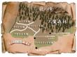 カナン地方地図
