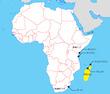 マダガスカル周辺地図