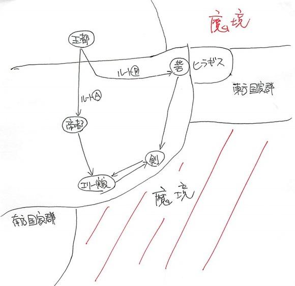 帝国旅程マップ