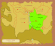 リメリア王国地図