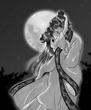 月夜の壹与と男鹿