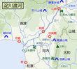 淀川渡河図