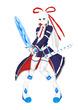 魔法少女と鎧の戦士(修正版)