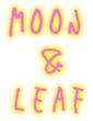 MOON&LEAF ロゴ2