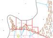 オークの賢者:セージ村北部地形図