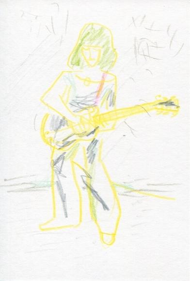音楽コラム 『ロックの歴史』 の第24回の挿絵