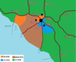 地図 交易自治都市ホーン