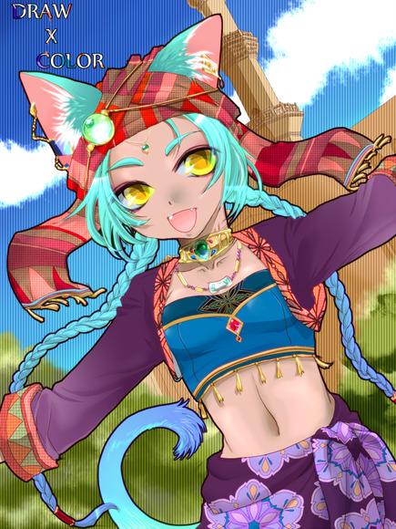 【線画×彩色◆コラボ祭Ⅳ】 自分で彩色