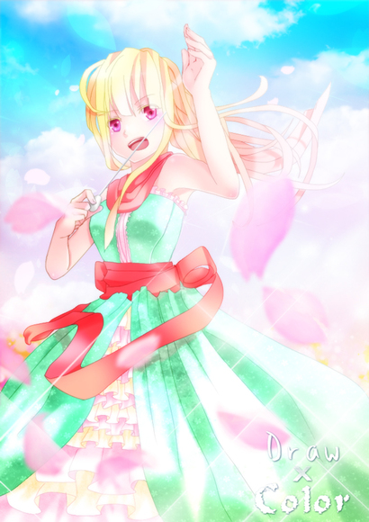 【線画×彩色◆コラボ祭Ⅱ】楽園の指揮者【つまようじ様×杞紗】