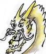 『スピリッツ・マネージャー』に登場する龍の顔