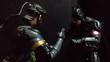バットマンと戦闘