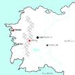 レスターナ地図
