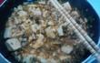 手作り料理 麻婆豆腐
