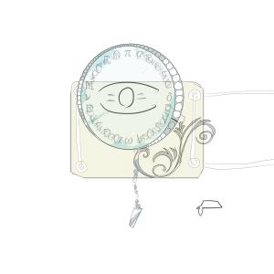眼帯モノクル