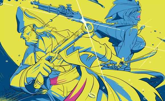 【線×色】海賊×女海賊