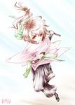 【線×色Ⅳ】遠山桜(Mickさまの線画)
