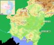 クオルデンツェ領周辺MAP