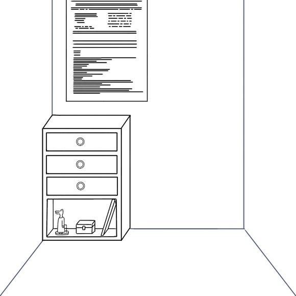 落書き 部屋