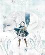 魔法っ子:氷の魔法剣士。