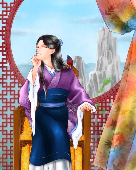 【コラボ祭Ⅳ】汀雲様の線画