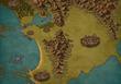 異世界宿屋の住み込み従業員MAP 世界地図(一部)