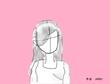 ピンクの少女