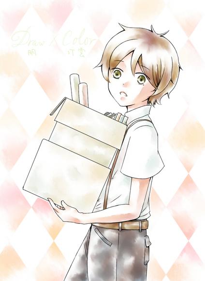 【線×色Ⅱ】トーリ(朋さまの線画)