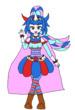 魔法少女「ヒメコ・ペガサス」ビジュアルその1