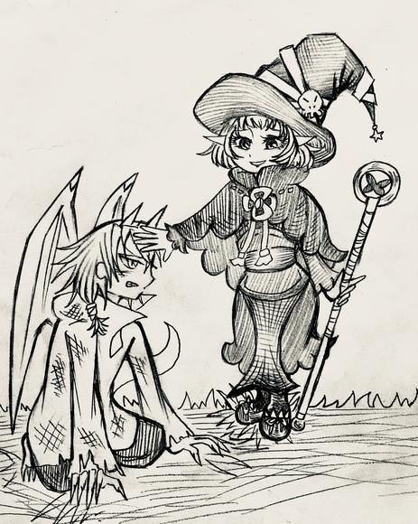 アンナとララべ(過去)