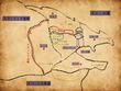 ドラゴニア王国地図