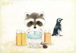 【線×色Ⅳ】「スズキさんとアンドリュー」(ペン銀子さまの線画)
