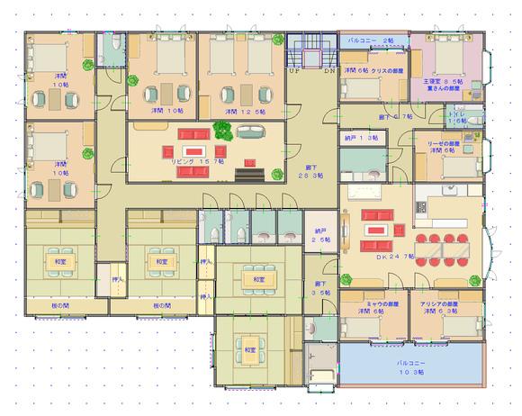 第2章・番外編用の図面・遺跡施設2階