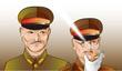 陸軍軍服のイラスト練習