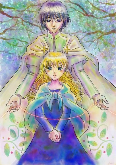 アミュウと聖輝