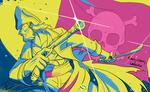 【線×色】海賊(線画:馬矢ン船長さま)