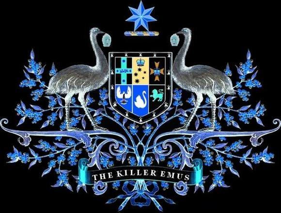 The Killer Emus / Main symbol
