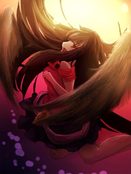 【線×彩Ⅱ】秋花様の線画