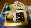ケーキ(*ノ゜Д゜)八(*゜Д゜*)八(゜Д゜*)ノィェーィ!