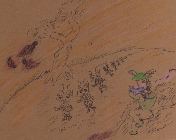 『秋の歌』挿絵