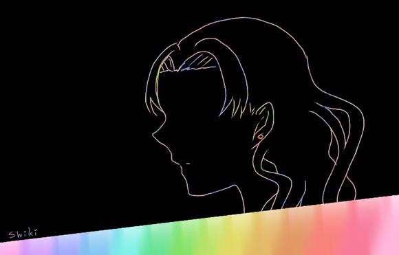 イーダ・オルマリン スクラッチアート風