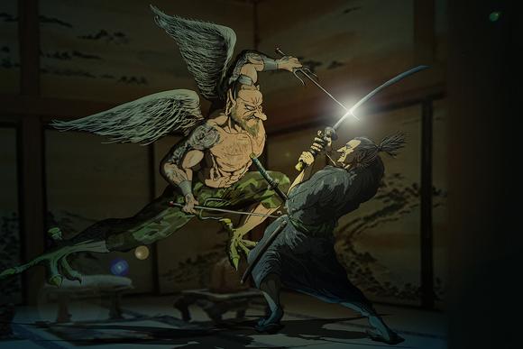 雅~ジ・アサシン~挿絵16話22