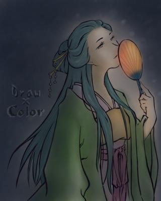 【線画×彩色】汀雲さんの線画に色塗り!