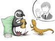 「ペンギン・カウンセラー アンドリューの事件簿」最終章挿絵