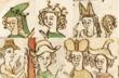中世の被り物