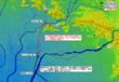 長良川の戦い見取り図
