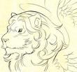 少年と竜神「召喚魔法と光の獅子」
