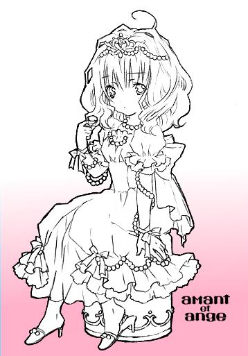 パールのドレス