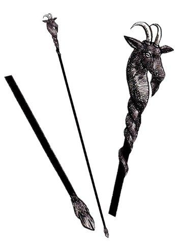 黒山羊の杖