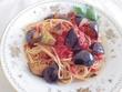 ナスとトマトのスパゲッティ